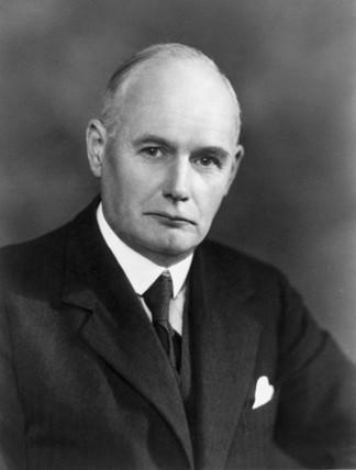 Dr S C Bradford, Science Museum Librarian, c 1930s.