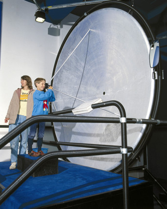 Beamed Voices interactive, Science Museum, London, 1992.