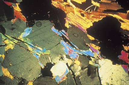 Sandstone, light micrograph, 1990s.