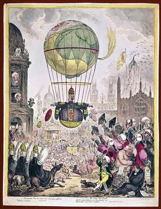 'He Steers his Flight Aloft...', 1810.