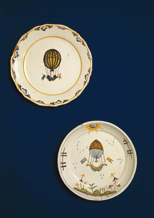 The Charles & Robert balloon, 'Globe', 1783.