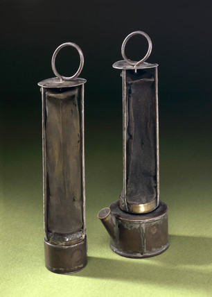 Natural Gas Stations >> Davy Lamps, 1815. at Science and Society Picture Library