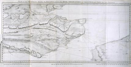Plan of the Principal Triangulation of Britain, 1787-1790.