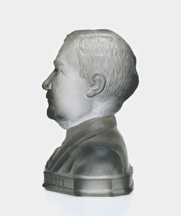 Bust of Michael J Owens, 1928.