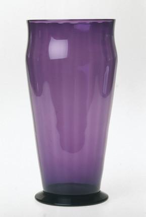 Amethyst vase, c 1935.