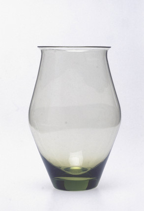 Sea green vase, c 1935.