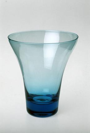 Pale blue vase, c 1935.
