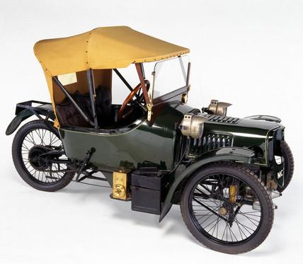 Morgan Sports three-wheeled cyclecar, 1913.