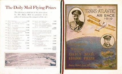 'The Trans-Atlantic Air Race', 1919.