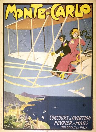 'Monte-Carlo Concours d'Aviation Fevrier et Mars', Monaco, early 1910s.