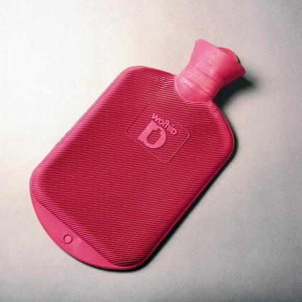 Hot water bottle, 1996.