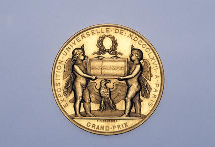 Gold medal, 1867.