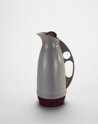 Thermos flask, c 1950s.