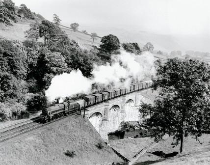 British Railway (BR) 4-6-0 steam locomotive, 1953-1958.