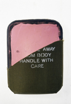 Bullet-proof vest plate,  1996.