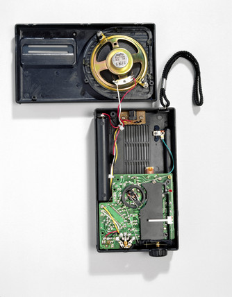 Transistor radio, 1996.