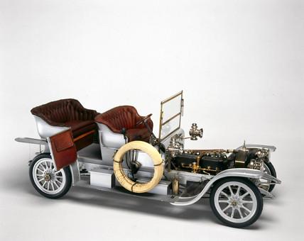 Rolls-Royce 'Silver Ghost' motor car, 1907.