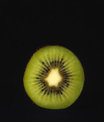 Half a kiwi fruit, 1990s.