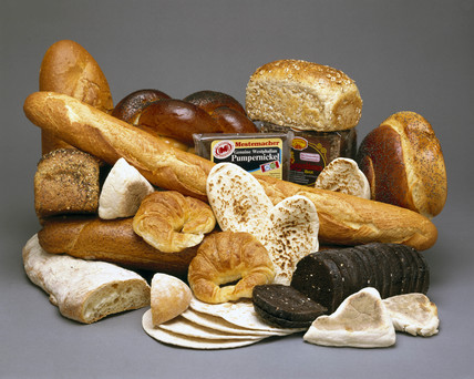 Bread from various countries, 1990s.