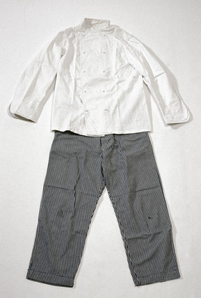 Chef's outfit, 1980.