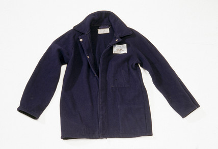 Blast furnace worker's jacket, 1981.