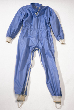 Pharmaceutical worker's suit, 1982.