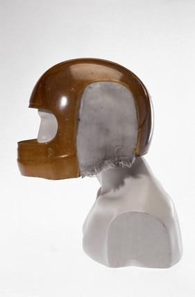 Racing driver's helmet, 1984.