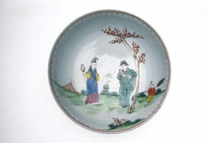 Saucer, 1770-1780.