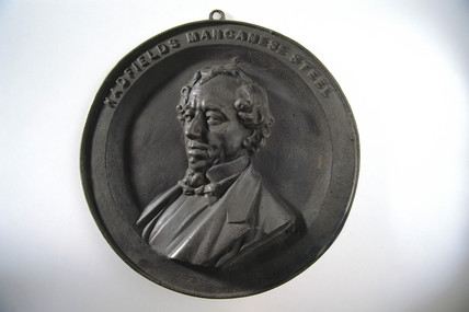 'Beaconsfield' medallion, 1882-1884.