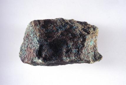 Ordinary copper ore from Alderly Edge, Cheshire.