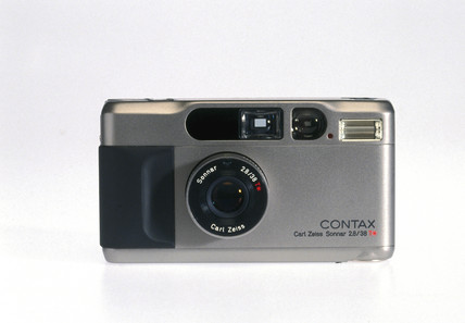 Contax T2 compact camera, c 1996.