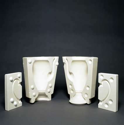 Coffee pot moulds, 1996.