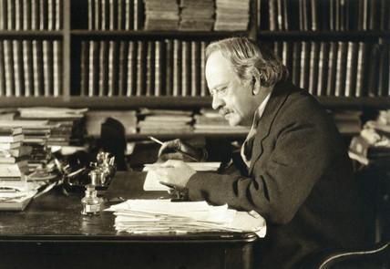 Joseph John Thomson, English physicist, c 1920s.