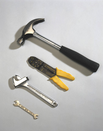 Hammer, pliers and spanners, 1996.