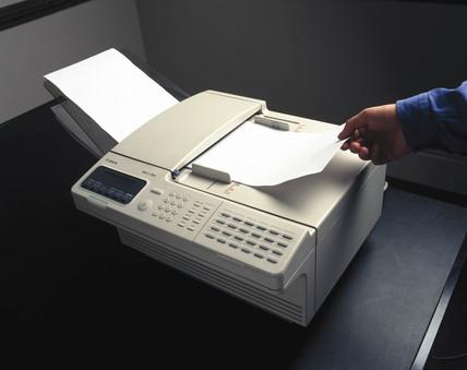 Canon 'Fax L-700' fax machine, 1997.