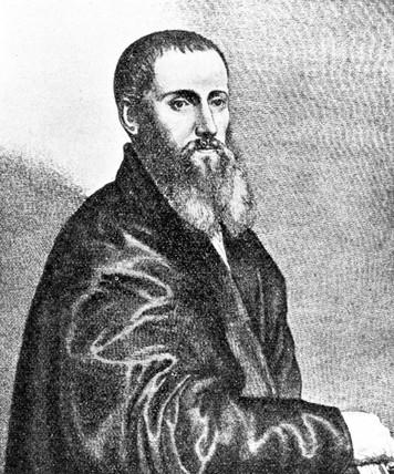 Daniel Barbaro, Italian perspectivist, 16th century.
