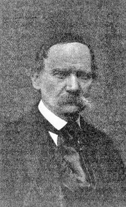 Paul Pretsch, c 1860.