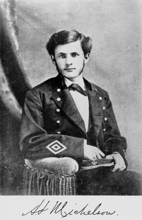Albert Abraham Michelson, American physicist, 1878.