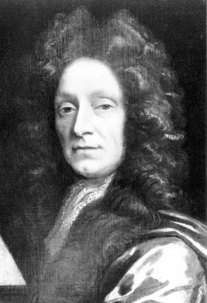Sir Christopher Wren, English architect, c 1670.