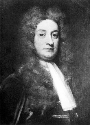 Sir Hans Sloane, Northern Irish physician and naturalist, c 1700-1730.