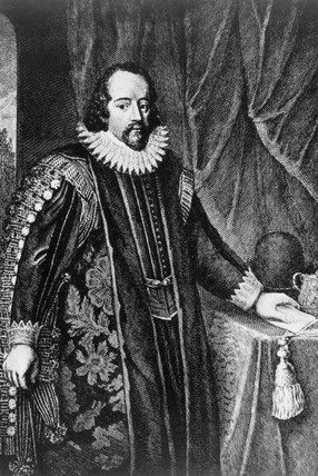 Francis Bacon, British statesman and esayist, late 16th-early 17th century.