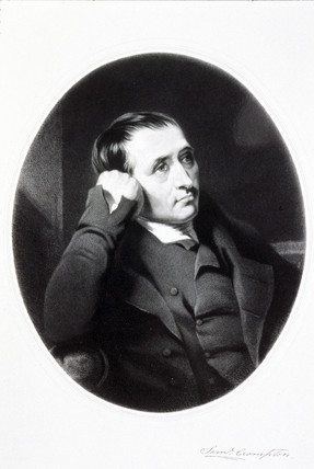 Samuel Crompton, inventor of the spinning mule, early 19th century.