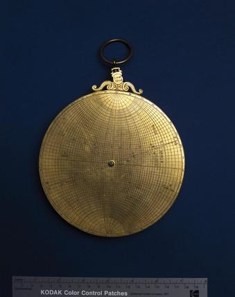 Planispheric astrolabe, c 1570.