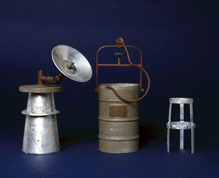 'Carbic' Calcium Carbide handlamp, c 1940.