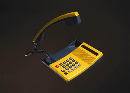 Kirk telephone, c 1980s.