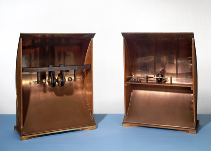 Marconi's first beam transmitter, 1895.