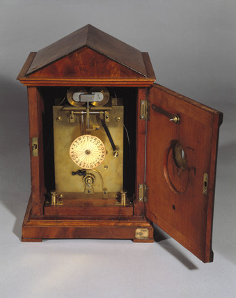 Early Wheatstone ABC telegraph receiver, c 1842.