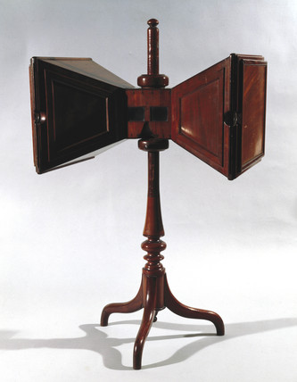 Wheatstone stereoscope, c 1850.
