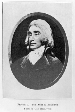 Sir Samuel Bentham, British inventor and naval architect, c 1800.