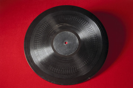 Baird Phonovision disc, c 1928.